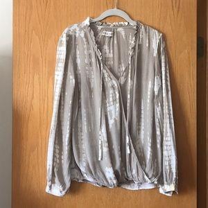 Knox Rose size M tie dye blouse NWOT